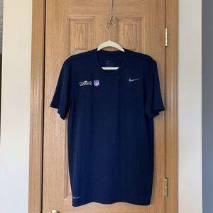 Nike NFL Shield Logo T-Shirt Rare Drifit